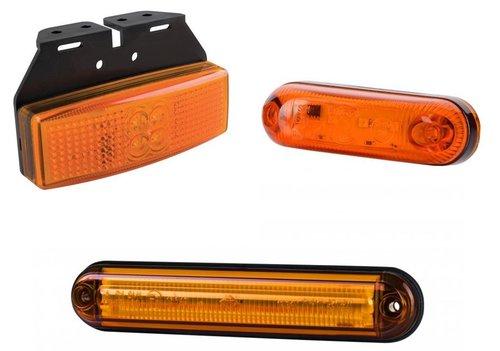Zijmarkeringslampen en Contourlampen