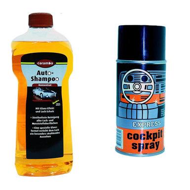 Autoshampoo en  auto reiniger