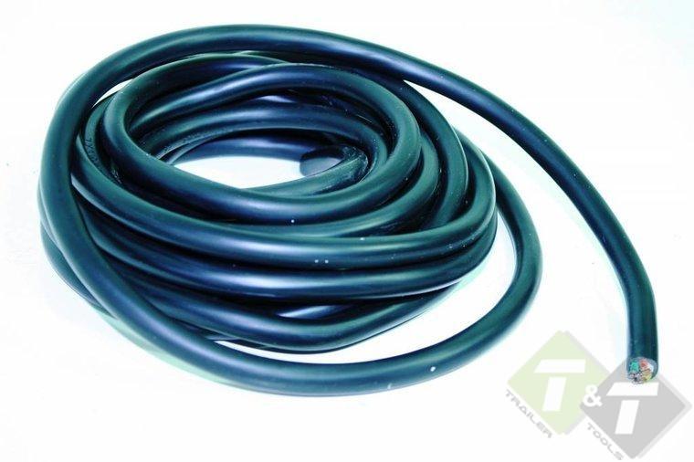 Goede aanhangerkabel, stroom kabel, 7 aderige stroomkabel , 5 meter EH-43