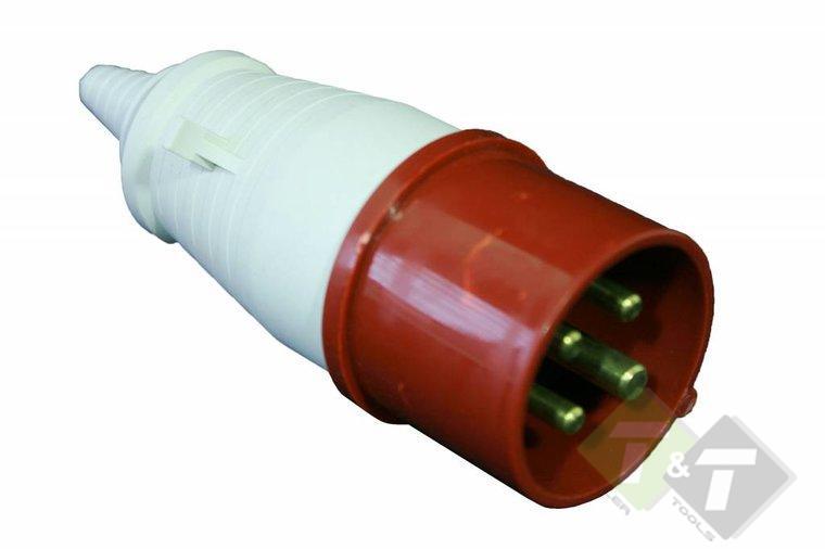 Super Stekker, 4 pins, 380 Volt, 16 Ampere, CEE Stekker - Trailer And Tools BM-61
