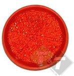 reflector, reflectoren, reflectie plaat, rood