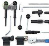 afstel en borging gereedschap voor benzine en diesel motoren van VAG groep, audi, seat, skoda, volkswagen, distributieset