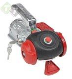safetyball, Disselkoppeling slot, disselbal Rood, Kunststof, 50mm diameter, bal_
