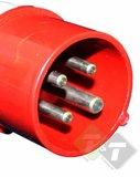 Ongebruikt Stekker, 4 pins, 380 Volt, 16 Ampere, CEE Stekker - Trailer And Tools YA-28