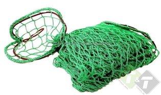 Aanhangernet 1.5 meter x 2.2 meter (B x L), mazen van het net zijn 3.5cm groot