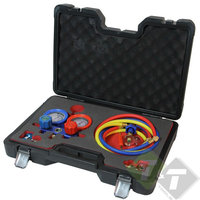 Airco diagnose set, Airco tester, 6 dlg