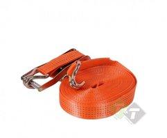 Spanband, Sjorband 5 Ton, 15 meter x 50mm, Oranje