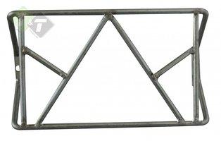Achterlicht Beschermrek, 262x155x75mm, Beschermer met driehoek
