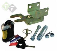 Aanhanger slot, caravanslot, Fixed Lock, slot, sloten B35 SCM, 305mm x 120mm x 120mm