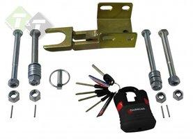 Aanhangerslot, Disselslot, Fixed Lock AKS3504 SCM, 305mm x 120mm x 120mm