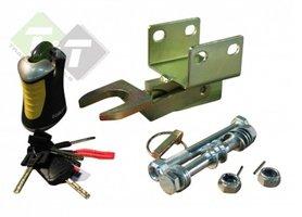 aanhangerslot, sloten, Fixed Lock, slot, sloten BAK35 SCM, 305mm x 120mm x 120mm