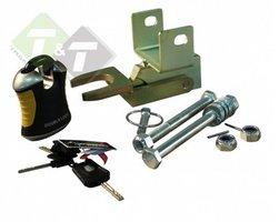 Disselslot, aanhangerslot, caravanslot, Fixed Lock, slot, sloten Avonride R60 SCM, 305mm x 120mm x 120mm