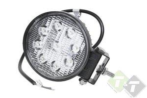 27 Watt LED Werklamp, LED lamp, 11cm diameter