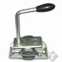 Neuswielklem, buisdiameter 35mm, solide spindel, 2 montagegaten