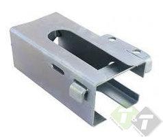 Disselslot koker model, 215mm x 110.3mm, vergrendelstuk is 145mm x 30mm