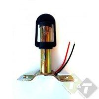 Zwaailamp houder, Lamphouder, din montagesteun voor signaallampen, Type-T, 30mm x 113mm, Hoogte ca.120mm
