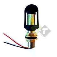Zwaailamp houder, Lamphouder, din montagesteun voor signaallampen  Type-I, Hoogte ca.102mm, Diameter 24 mm