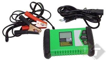 Acculader, batterijlader, machinelader, autolader 6V / 12V, 1.3 of 5 Ampere