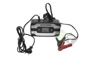 Acculader, batterijlader, stoomlader  12 Volt, 6 Ampere