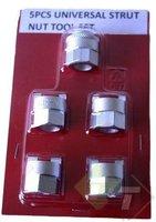 Veerpoot schokbreker moer sleutel set, 5 delig, 10.5mm, 12.5mm, 14mm, 14.5mm