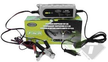 Acculader, stroomlader, Druppelaar höfftech, 12 Volt 1.0 Ampere, druppellader