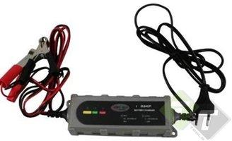 Acculader, batterijlader Druppelaar, stroomlder 6volt en 12 Volt