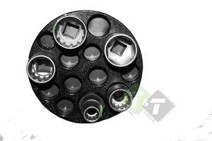 Magnetische dophouder, magneet, 117mm diameter
