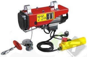 Electrische Lier, 250/500KG, hefhoogte van 6/12 meter, 780 Watt