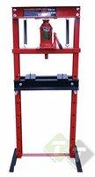 Werkplaatspers, kollompers 20 ton, min. Werkafstand is 80mm, max. werkafstand is 1080mm