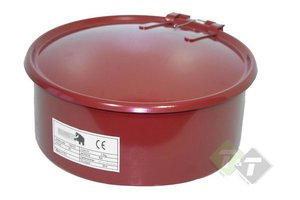 Ontvetterbak, 5 liter capaciteit, 335 x 320 x 130mm (L x B x H)