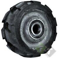 Industriewiel zwaar, 150mm diameter, 65mm as breedte, 25mm as diameter, 500KG draagvermogen
