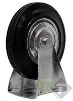 Bokwiel, 125mm diameter, draagvermogen van ca. 60KG per wiel