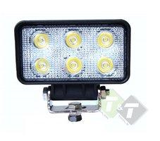 Werklamp LED, 18 Watt, Ledlamp, Rechthoek