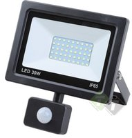 LED Straler + Sensor, Werklamp, Bouwlamp led, Ledlamp