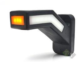 Breedtelamp Haaks, NEON LED Markeringslamp, pendellamp Links, WAS