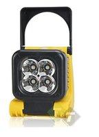 Werklamp, 4 LED's, Buigbare bouwlamp