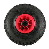 Bolderkar/Steekwagen wiel met kunststof velg, prijs per stuk, maat 3.00-4