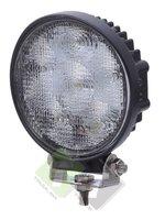 Werklamp LED, Rond, 18 Watt, Ledlamp