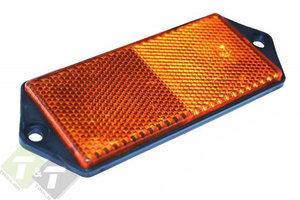 Reflector Oranje, 102mm x 40mm, E3 keurmerk