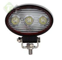 Werklamp LED, Ovaal, 9 Watt, Ledlamp