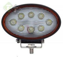 Werklamp LED, Ovaal, 24 Watt, Ledlamp