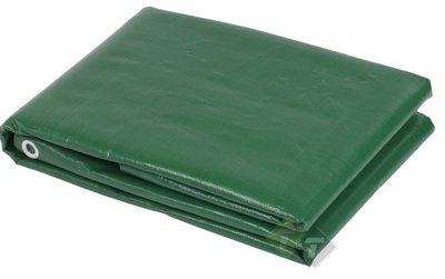 Afdekzeil, 4 meter x 5 meter, Groen, Benson