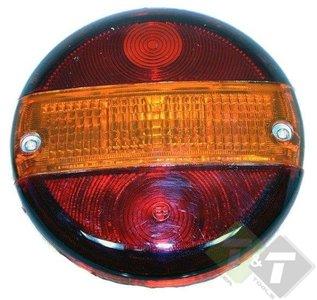 achterlicht rond, achterlicht, aanhangerverlichting, aanhangerlamp, aanhanger, aanhangerverlichting