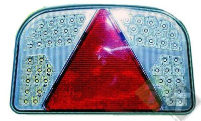 Led achterlicht rechts, 56 LED, 243mm x 148mm x 48mm - Trailer And Tools