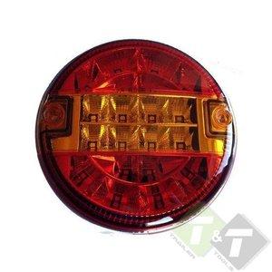 Achterlicht LED Rond, ledlamp, hamburgerlamp - Trailer and Tools ...