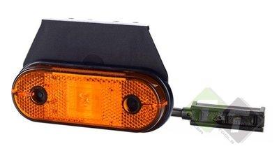 zijmarkeringlamp, zijmarkering lamp, countourlamp, contour licht, markeringslamp, led markering