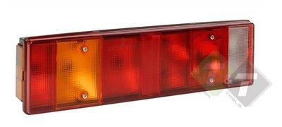 Achterlicht, Achter licht, Achterverlichting, Aanhangerverlichting, Achterlamp, Achter lamp, Vrachtwagenlamp