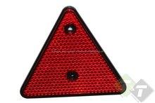 reflector, reflectors, reflectoren, rood, reflector driehoek