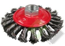 staalborstel voor haakse slijper, staalborstel, staal borstel, borstel
